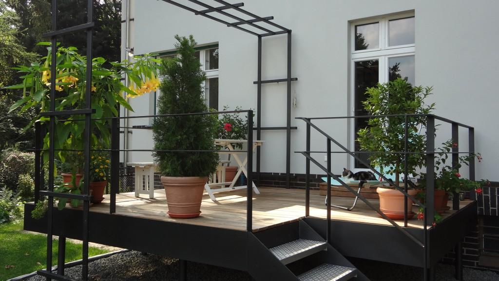 Hausgarten Konstruktion